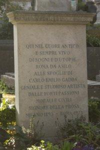 Graf, Carlo Emilio Gadda