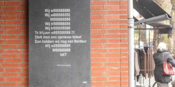 Poëzie, gedicht, Kurt Schwitters, Nunspeet