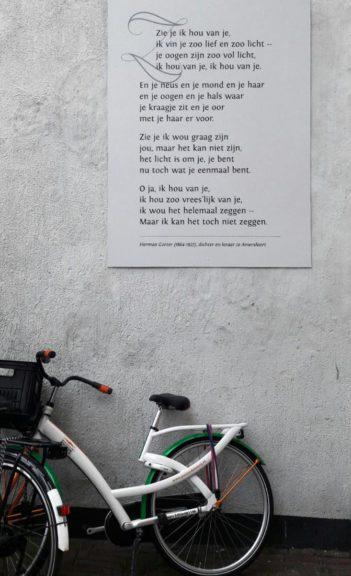 Poëzie, gedicht, Herman Gorter, Amersfoort