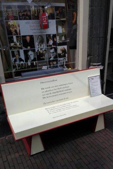 Poëzie, gedicht, Onvervreemdbaar, Ida Gerhardt, Delft