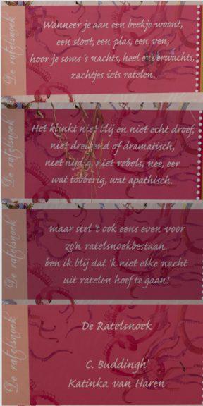 Poëzie, gedicht, Cees Buddingh, Dordrecht