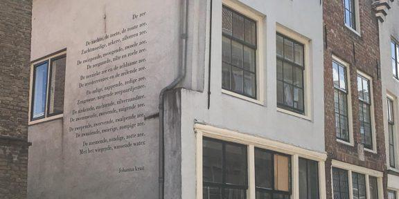 Poëzie, gedicht, Middelburg, Johanna Kruit