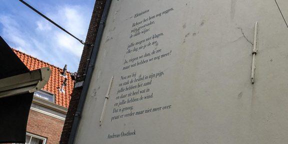 Poëzie, gedicht, Andreas Oosthoek, Middelburg