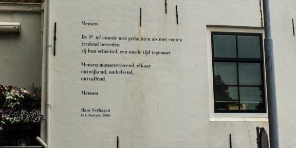 Poëzie, gedicht, Hans Verhagen, Middelburg, Mensen