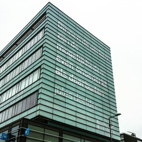 Poëzie, gedicht, Jules Deelder, Rotterdam