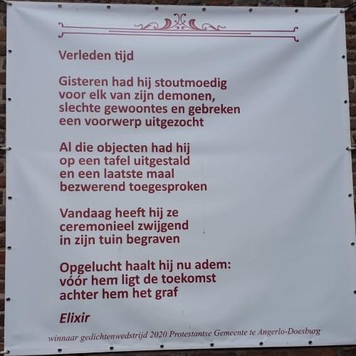 Poëzie, gedicht, Elixir, Doesburg