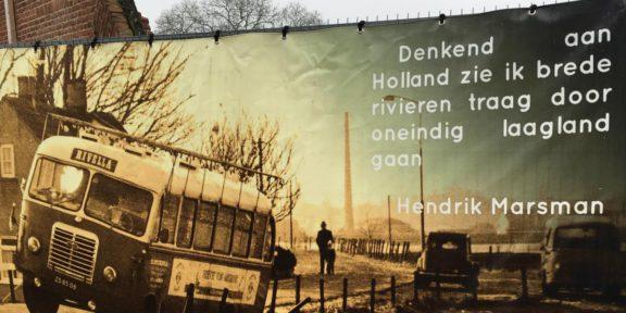 Poëzie, gedicht, Hendrik Marsman, Ooij