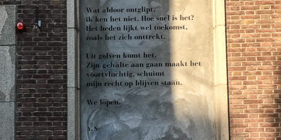 Poëzie, gedicht, Yvonne Né, Middelburg
