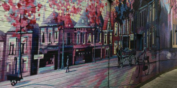 Zwolle, muurschildering