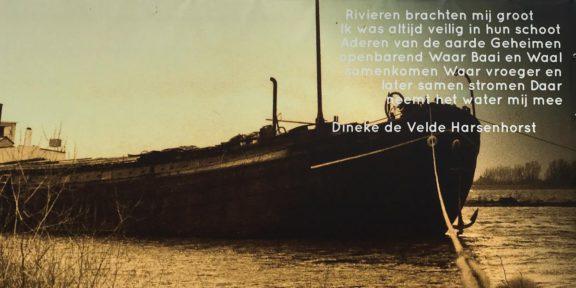 Poëzie, liedtekst, Ooij, Dineke de Velde Harsenhorst