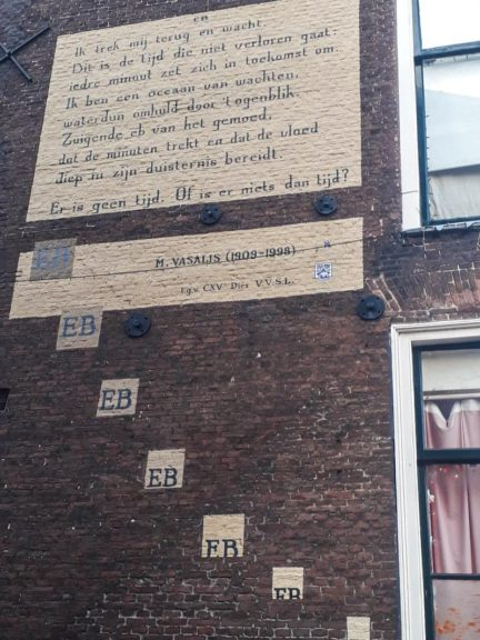 Poëzie, gedicht, M. Vasalis, Leiden