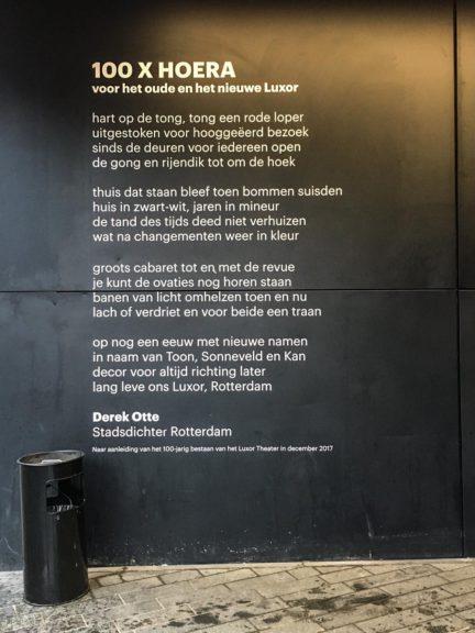 Poézie, gedicht, Rotterdam, Derek Otte