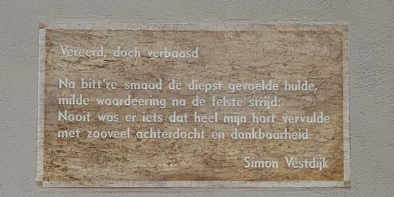 Poëzie, gedicht, Simon Vestdijk, Wijk bij Duurstede