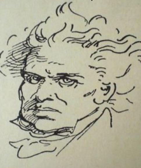 Moritz von Schwind, Ludwig van Beethoven