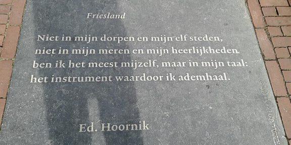 Poëzie, gedicht, Ed Hoornik, Leeuwarden