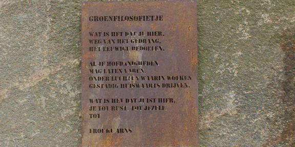 Poëzie, gedicht, Frouke Arns, Nijmegen, stadsdichter