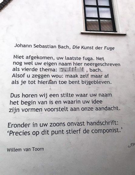 Poëzie, gedicht, Willem van Toorn, Naarden