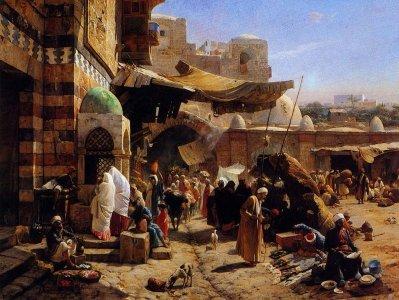Gustav Bauernfeind, orientalisme