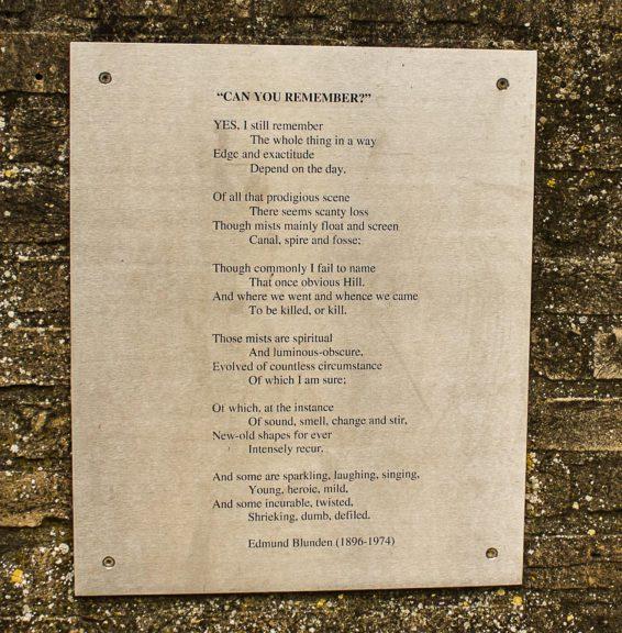 Poëzie, gedicht, Edmund Blunden, Ieper