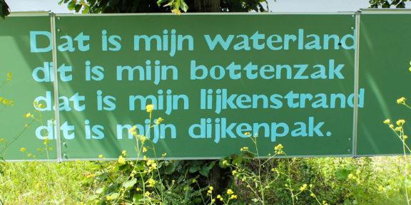 Poëzie, gedicht, Bart FM Droog, Millingerwaard
