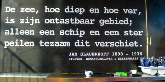 Poëzie, gedicht, J. Slauerhoff, Amsterdam