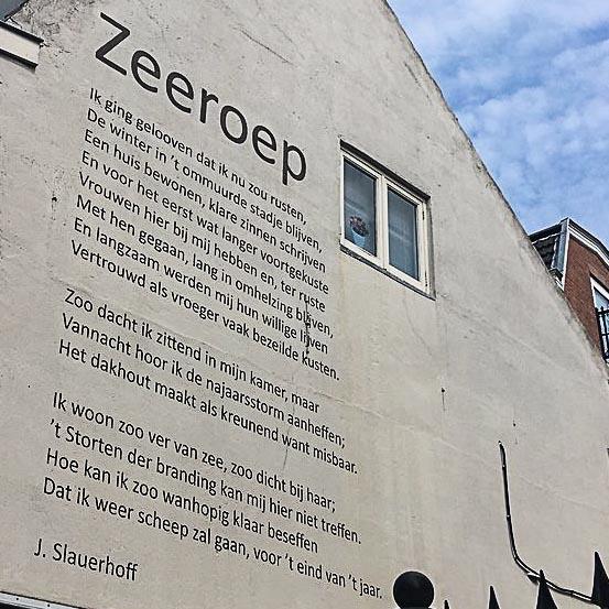 Poëzie, gedicht, J. Slauerhoff, Utrecht