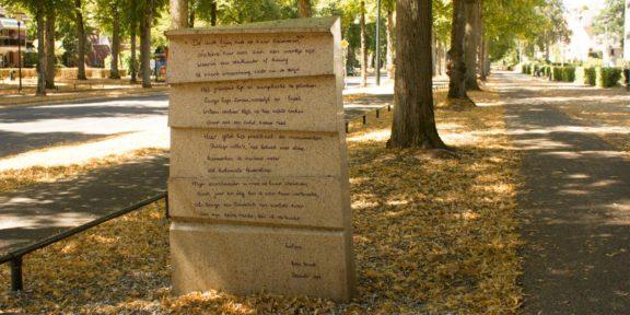 Poëzie, gedicht, Rosa Bromet, Apeldoorn