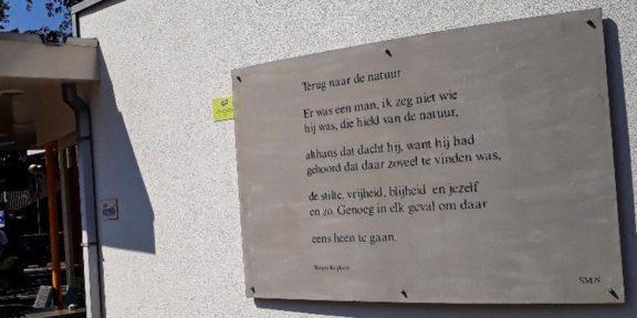 Poëzie, gedicht, Rutger Kopland, Nunspeet