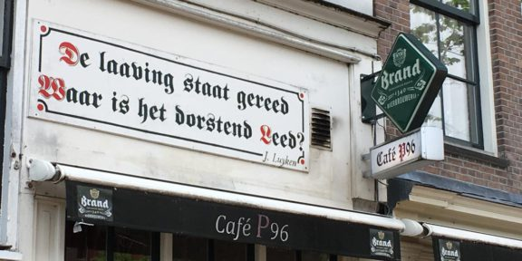 Poëzie, dichtregels, Jan Luyken, Amsterdam