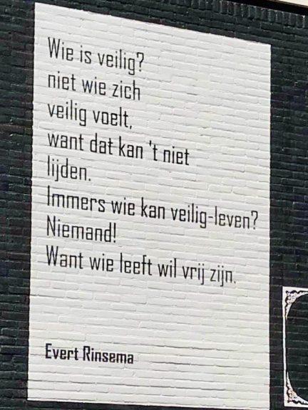 Poëzie, gedicht, Evert Rinsema, Drachten