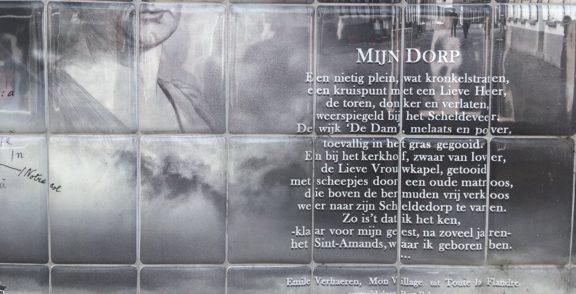 Poëzie, gedicht, Mijn dorp, Emile Verhaeren, Sint-Amands