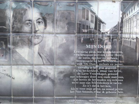 Poëzie, gedicht, Emile Verhaeren, Sint-Amands