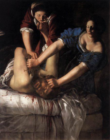 Artemisia Gentileschi, Judith onthoofdt Holofernes