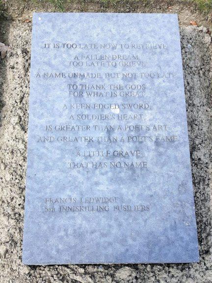 Poëzie, gedicht, Francis Ledwidge, Mesen