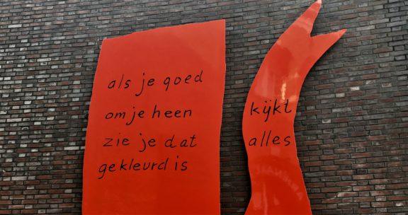 Poëzie, dichtregel, K. Schippers, Nijmegen
