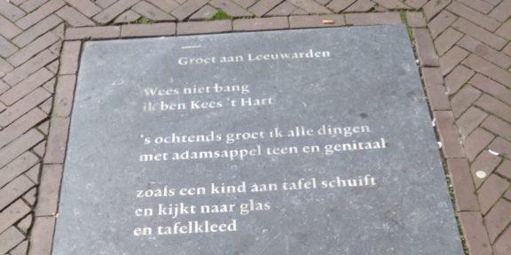 Poëzie, gedicht, Kees t Hart, Leeuwarden