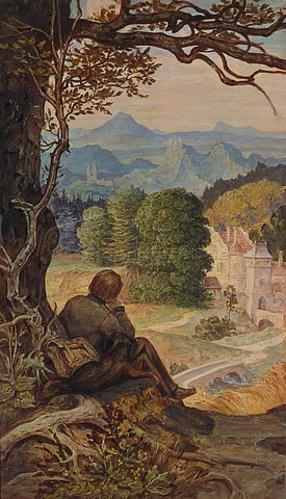 Moritz von Schwind, Wanderlust, Wanderbild