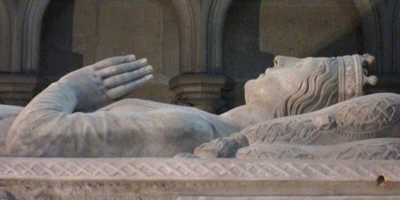 Valentina Visconti, Saint Dénis