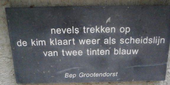Poëzie, gedicht, Bep Grootendorst, Zoutelande