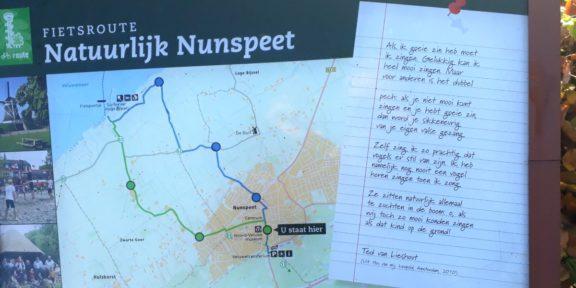Poëzie, gedicht, Ted van Lieshout, Nunspeet