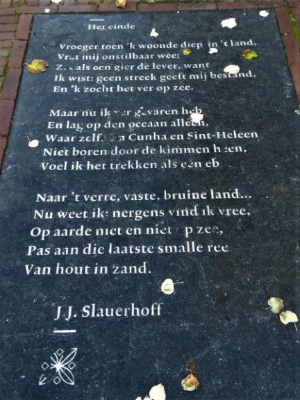 Poëzie, gedicht, J.J. Slauerhoff, Leeuwarden