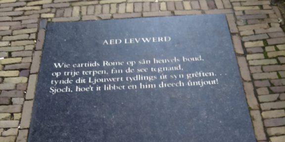 Poëzie, gedicht, D.A. Tamminga, Leeuwarden
