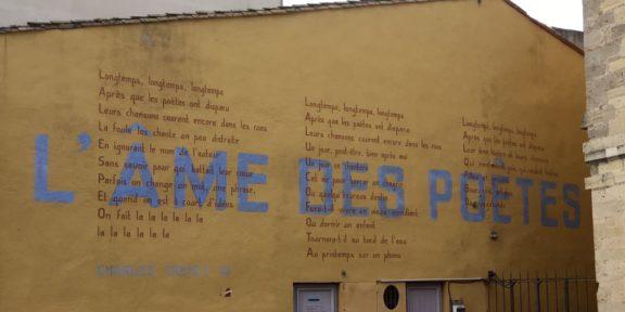 Po:ëzie, liedtekst, Charles Trenet, Narbonne