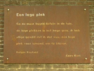 Poëzie, gedicht, Rutger Kopland, Arnhem