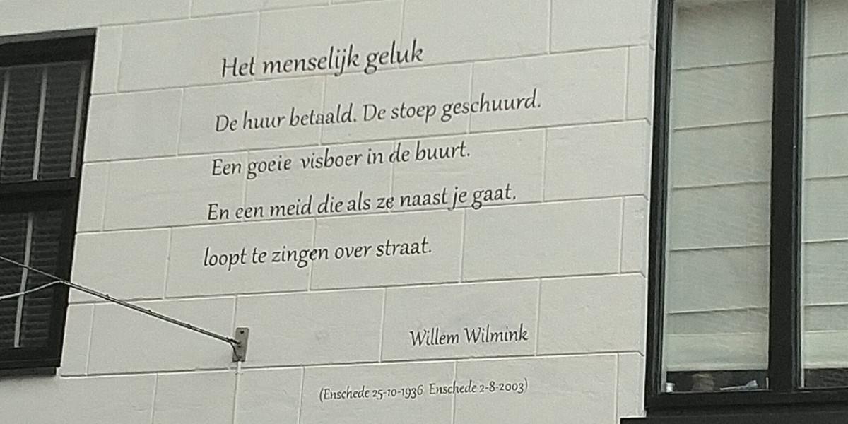 Poëzie, gedicht, Willem Wilmink, Hengelo