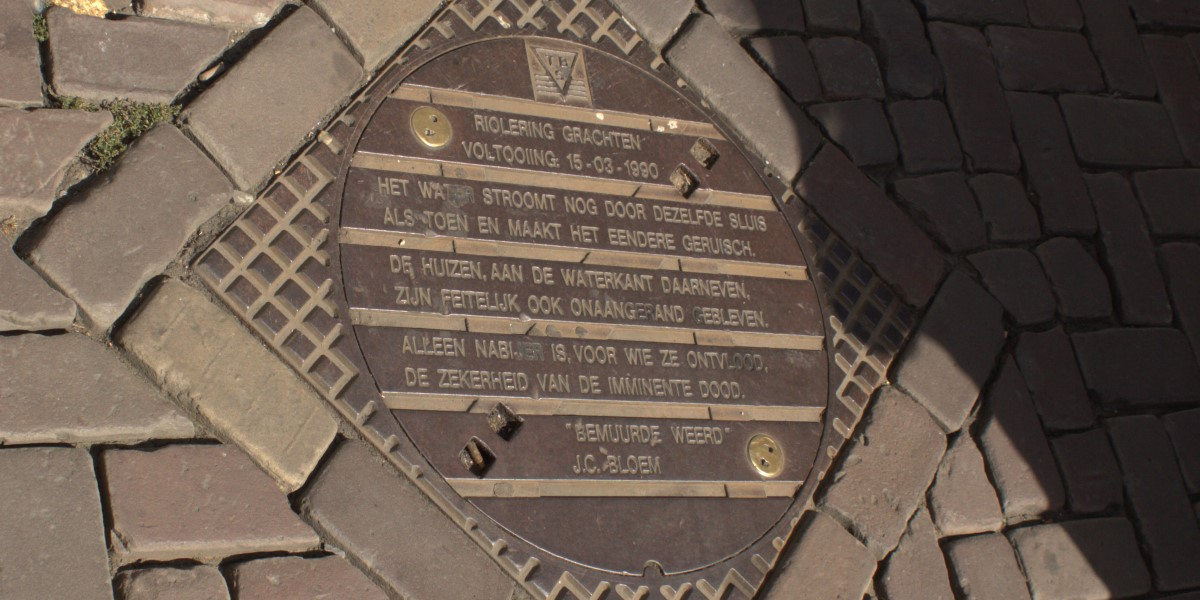 Poëzie, gedicht, J.C. Bloem, Utrecht