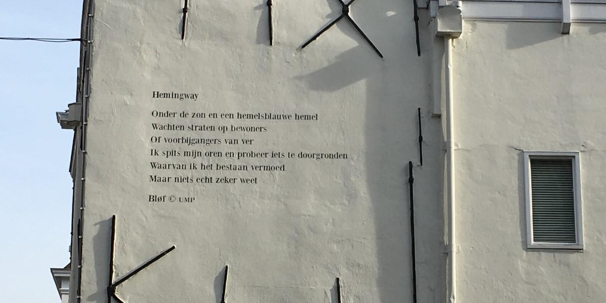 Poëzie, songtekst, Bløf, Middelburg