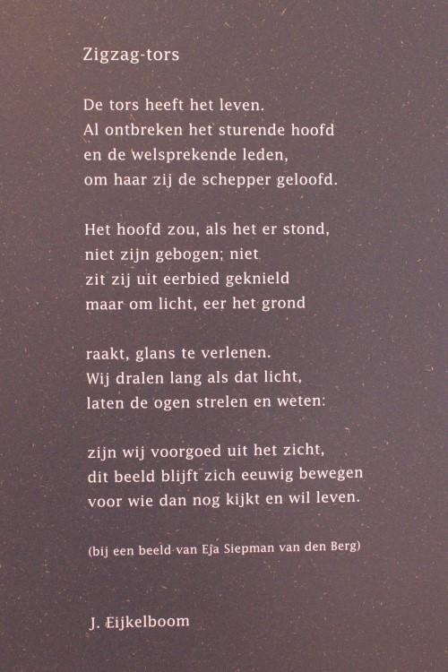 Poëzie, gedicht, Jan Eijkelboom, Wageningen, Eja Siepman-van den berg