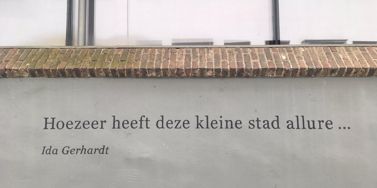 Poëzie, dichtregel, Ida gerhardt, Zutphen