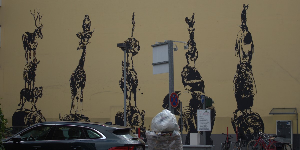 Street Art, Victor Ash, Lüneburg